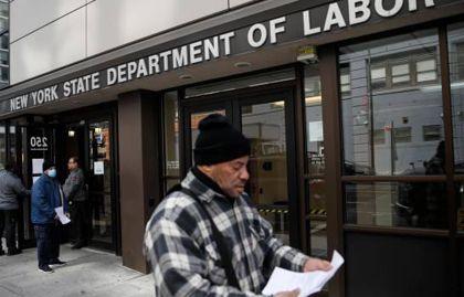 Bajan por tercera semana consecutiva las nuevas solicitudes de ayuda por desempleo en EEUU
