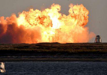 Prototipo de nave SpaceX estalla al aterrizar; lo consideran prueba exitosa