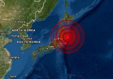 Registran sismo de magnitud 7,1 ante las costas de Japón