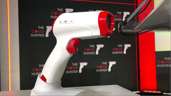 Crean dispositivo que detecta el coronavirus con un escáner: el Covid Hunter