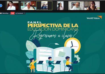 Organización humanitaria apoya presencialidad escolar y apela por la integración de nuevas herramientas