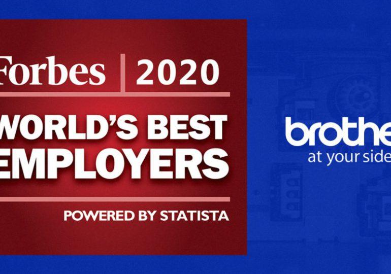 Forbes reconoce a Brother como uno de los mejores empleadores del 2020