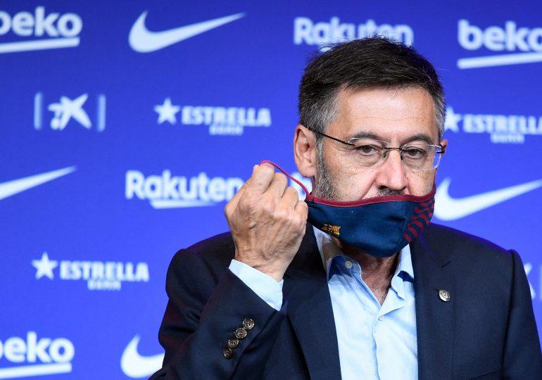 El expresidente del Barcelona queda en libertad provisional