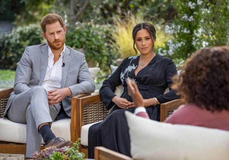 En medio de disputa con la familia real, Enrique y Meghan hablan con Oprah Winfrey