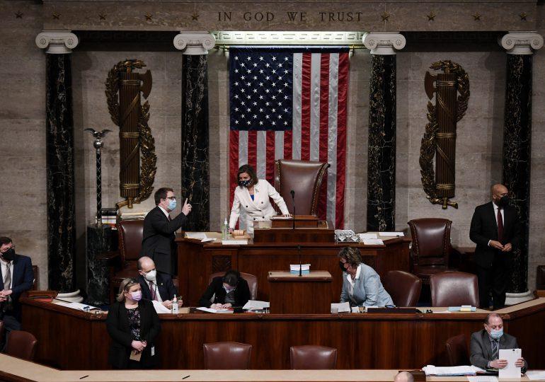 Biden logra victoria en Congreso con aprobación del plan de estímulo por USD 1,9 billones