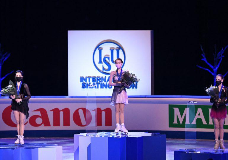 La rusa Shcherbakova, de 16 años, campeona mundial de patinaje artístico