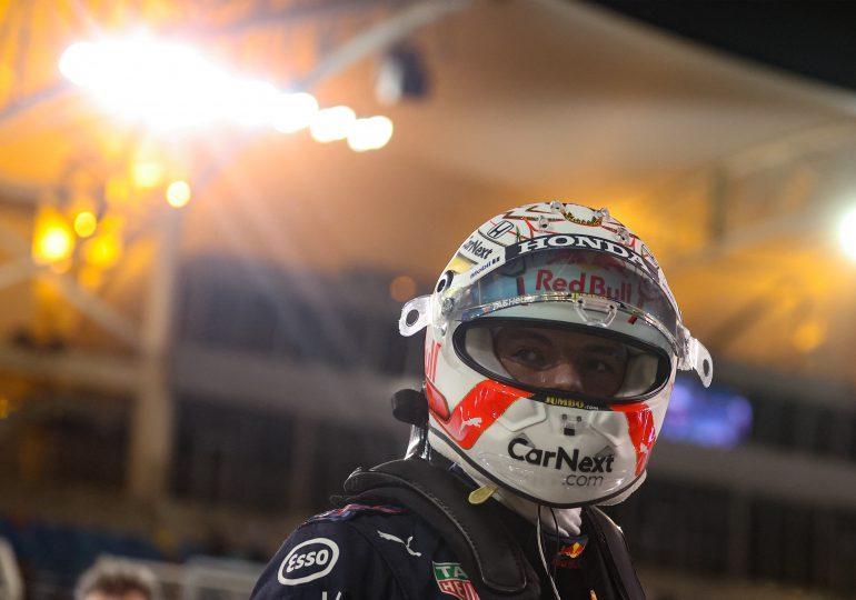 Verstappen logra la primera 'pole' de la temporada de F1 en Baréin