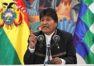 """Evo Morales pide se sancionen a responsables de """"golpe de Estado"""" en Bolivia"""