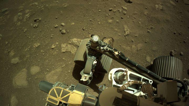 Perseverance da su primer paseo por Marte