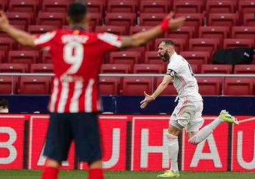 El Real Madrid rescata un punto contra el Atlético