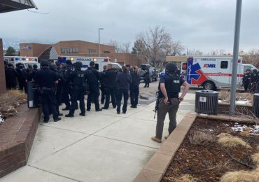 Varios muertos en un tiroteo en un supermercado de Colorado