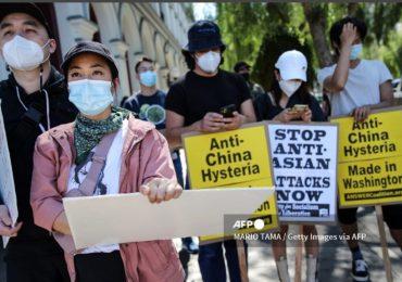 Manifiestan en EEUU contra violencia hacia comunidad asiática