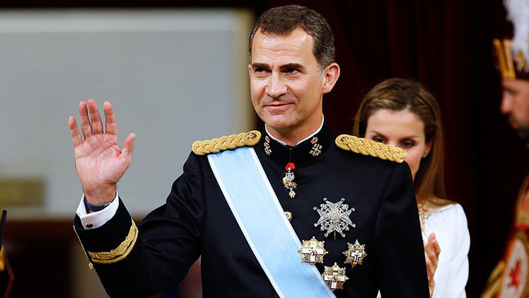 Los problemas de familia agobian al rey Felipe VI de España