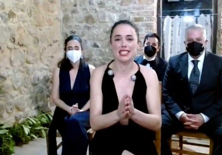 Patricia López Arnaiz, mejor actriz protagonista en los Goya