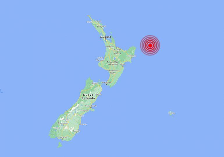 Sismo de magnitud 6,9 se registra ante costas de Nueva Zelanda