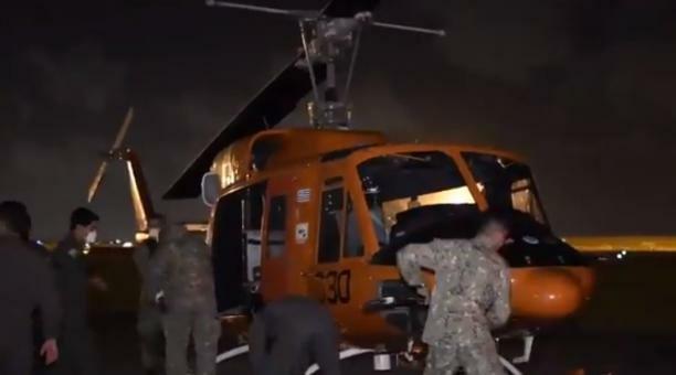 Cayó helicóptero en Uruguay que trasladaba unas 300 dosis de vacunas Pfizer