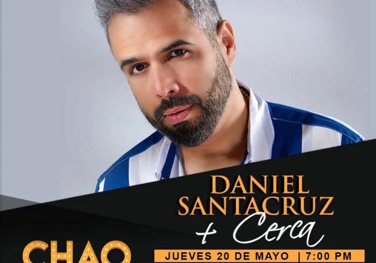 Daniel Santacruz se presenta en Santo Domingo
