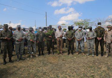 FF.AA. participa en jornada de reforestación en frontera por Día Internacional del Bosque