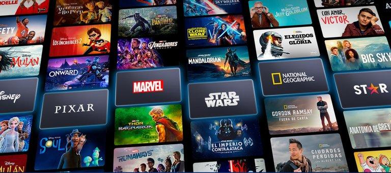Disney+ planea lanzar 100 nuevos títulos por año