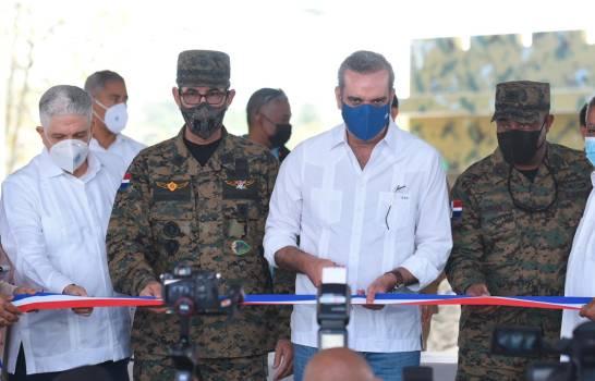 Abinader reinaugura fortaleza del Ejército en San José de las Matas