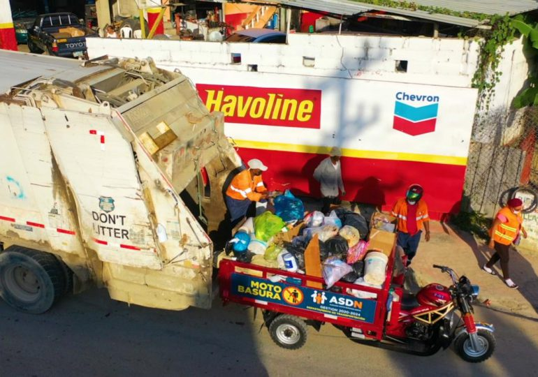 Alcaldía de SDN recoge 18 mil toneladas de basura cada mes