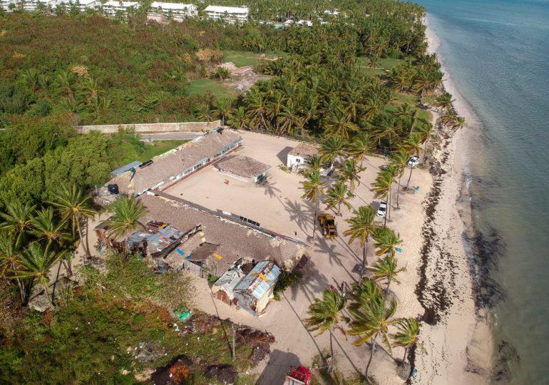 Medio Ambiente rescata área ilegalmente ocupada en playa Cabeza de Toro Punta Cana