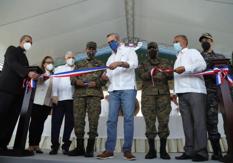 Abinader encabeza reinauguración de la Fortaleza Militar del Ejército en San José de las Matas de Santiago