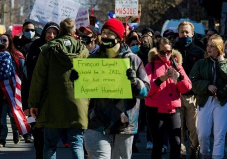 Nueva manifestación en Canadá contra medidas sanitarias por el Covid-19