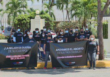 Solicitan al Congreso Nacional aprobar las tres causales del aborto