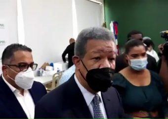 """VIDEO   Leonel sobre escogencia de Danilo como presidente del PLD """"No tengo nada que opinar"""""""