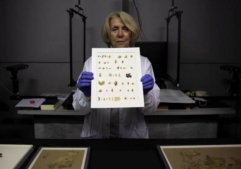 Israel desvela un manuscrito bíblico de 2,000 años de antigüedad