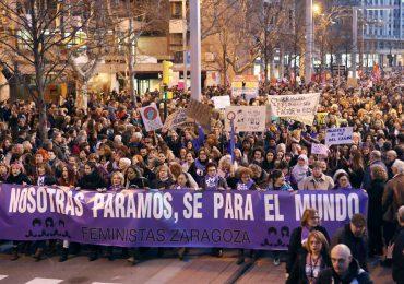 Manifestaciones por el Día de la Mujer en España
