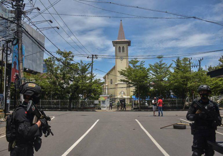 Atentado suicida contra una catedral indonesia tras la misa de Ramos