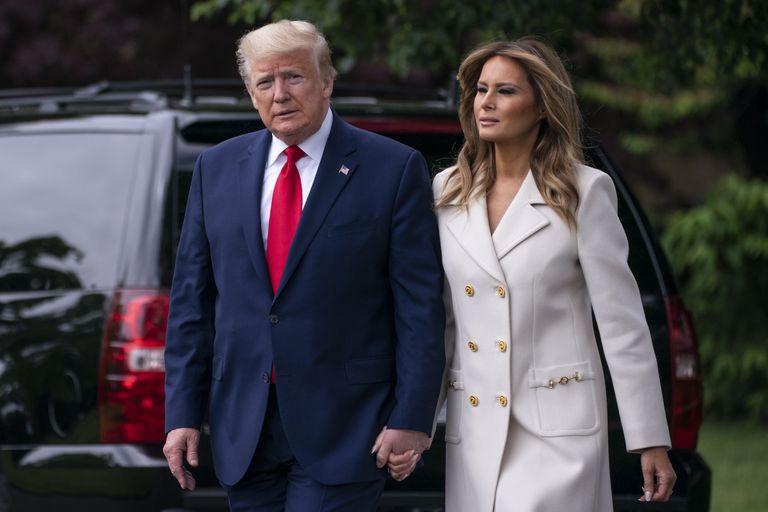 Donald y Melania Trump fueron discretamente vacunados en enero