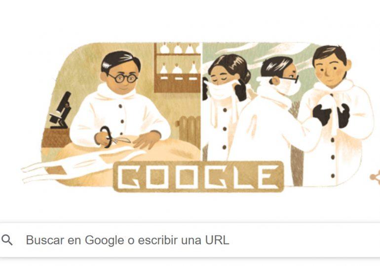 El Doodle de Google recuerda el nacimiento del creador de la mascarilla quirúrgica
