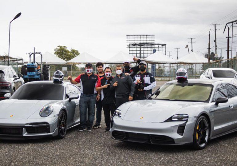 Porsche Taycan Turbo S establece récord mundial de velocidad para el cuarto de milla
