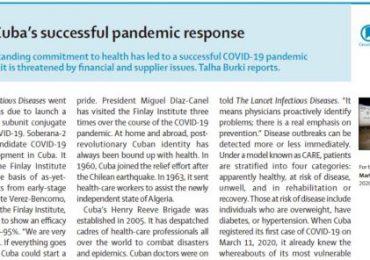The Lancet: Detrás de la exitosa respuesta pandémica de Cuba