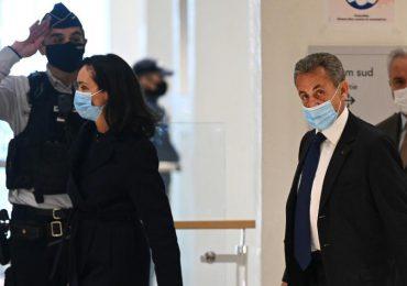 Expresidente francés Nicolás Sarkozy condenado a 3 años de cárcel por corrupción