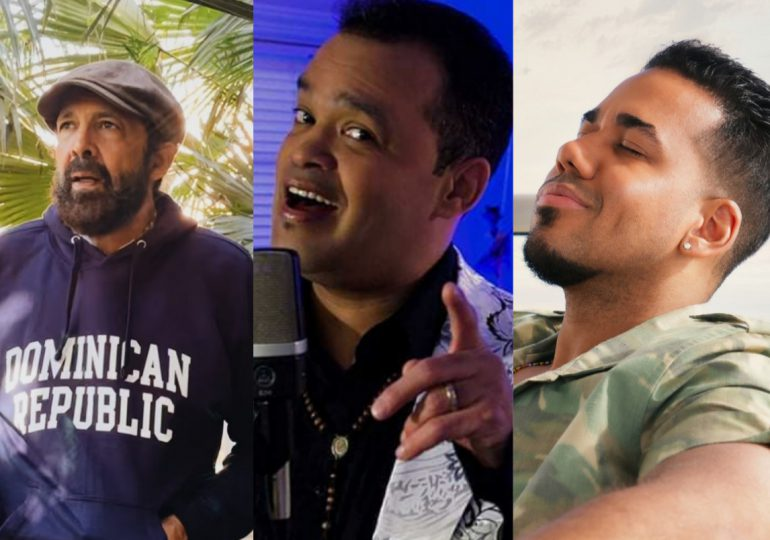 Juan Luis Guerra, Alex Bueno  y Romeo nominados a premios Latin American Music Awards