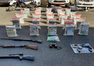 VIDEO   Desmantelan banda criminal e incautan 153 paquetes de drogas que traficaban a Puerto Rico