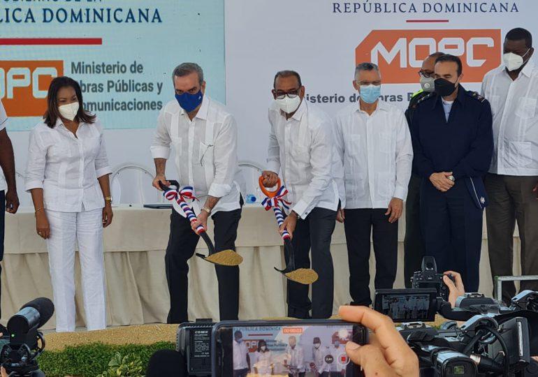 Gobierno inicia trabajos de ampliación avenida Hípico en SDE con una inversión de RD$561 millones