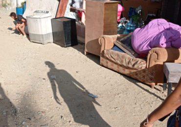 VIDEO | Comunitarios califican de injusto el desalojo de moradores del sector Los Patos, en Los Alcarrizos