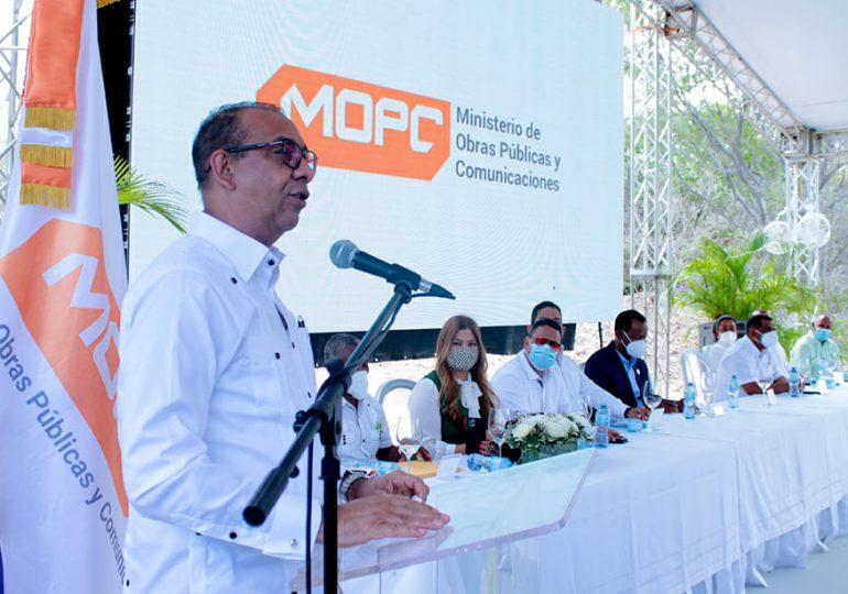 MOPC deja en servicio nuevo puente que comunica a Polo y Cabral, en la provincia Barahona