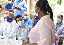 Director de INAPA realiza recorrido de inspección en San Cristóbal