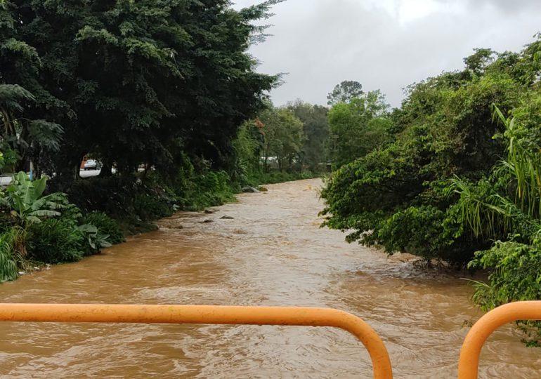 Acueducto de Jarabacoa resulta afectado por incidencias de sistema frontal en el país