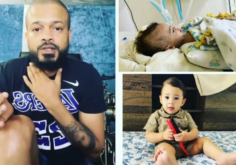 Don Miguelo logra reunir aporte para niño con tumor cerebral