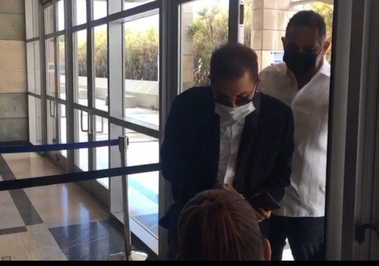 VIDEO | Diandino Peña acude a la Procuraduría por segunda vez para ser interrogado