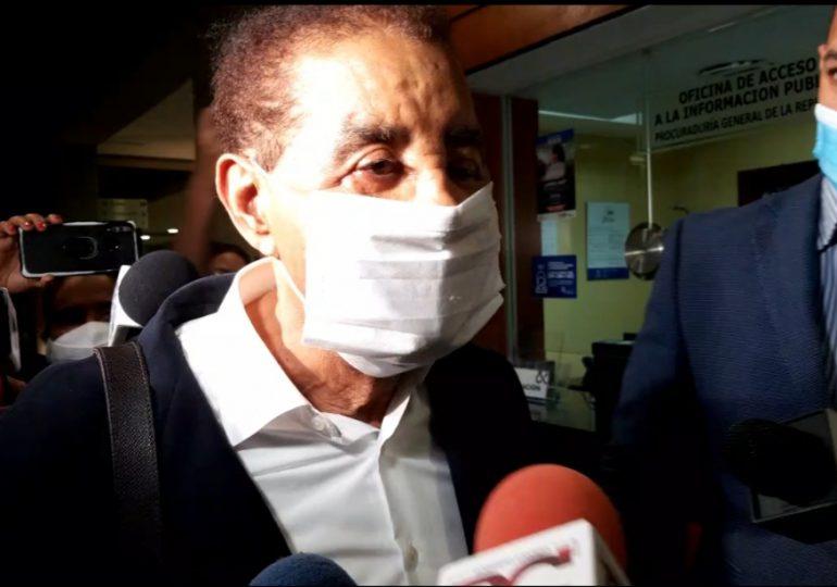 Diandino Peña asegura está en capacidad de responder ante la PEPCA