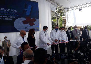 VIDEO | Gobierno deja en funcionamiento nuevas áreas en hospital Félix María Goico