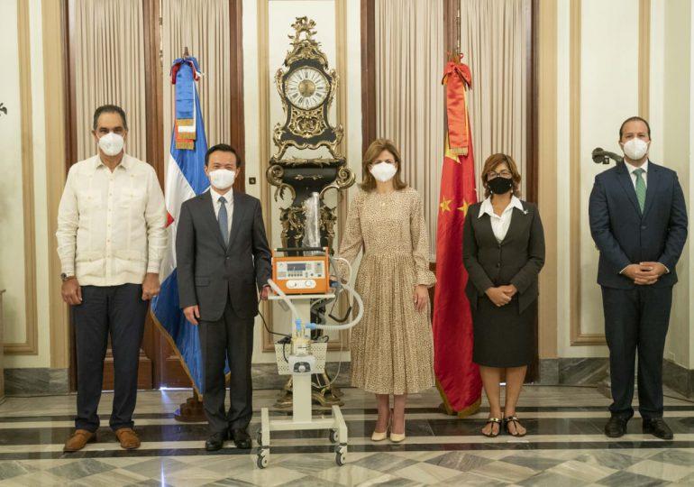 Raquel Peña resalta cooperación y hermandad entre China y RD